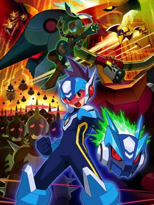 Ryuusei No Rockman - Shooting Star Rockman, Megaman Star Force