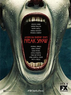 Truyện Kinh Dị Mỹ: Gánh Xiếc Quái Dị 4 American Horror Story: Freak Show Season 4.Diễn Viên: Evan Peters,Jessica Lange,Lily Rabe,Frances Conroy,Sarah Paulson
