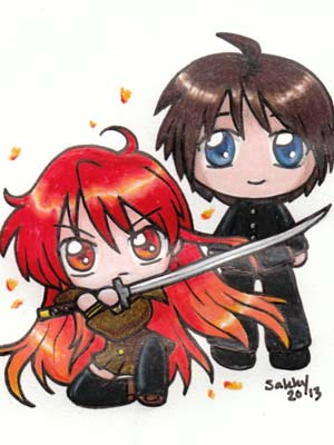 Shakugan No Shana Tan Shana Of The Burning Eyes Specials