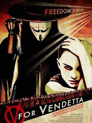 Chiến Binh Tự Do V For Vendetta.Diễn Viên: Hugo Weaving,Natalie Portman,Rupert Graves