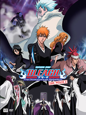 Bleach Movie 2: Mou Hitotsu No Hyourinmaru The Diamond Dust Rebellion.Diễn Viên: Ry Barrett,Camille Hollett,French,Jason Martorino