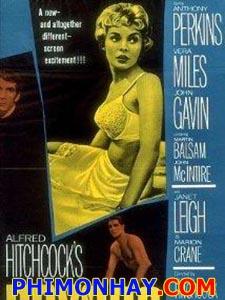 Tâm Thần Hoảng Loạn Psycho.Diễn Viên: Anthony Perkins,Vera Miles,John Gavin