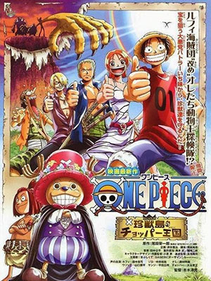 One Piece Movie 3: Vua Thú Chopper Choppers Kingdom On The Island Of Strange Animals.Diễn Viên: Takeshi Aono,Shigeru Chiba,Toshio Furukawa