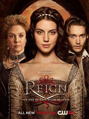 Bí Mật Vương Triều Phần 2 Reign Season 2.Diễn Viên: Adelaide Kane,Megan Follows,Torrance Coombs