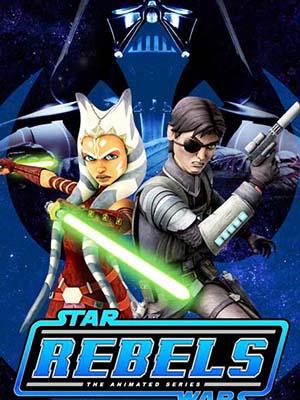 Chiến Tranh Giữa Các Vì Sao: Phiến Quân Star Wars Rebels Season 1.Diễn Viên: Vanessa Marshall,Freddie Prinze Jr,Steve Blum