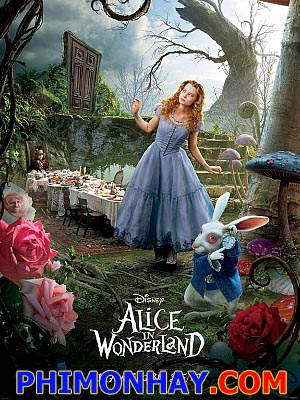 Alice Ở Xứ Sở Thần Tiên Alice In Wonderland.Diễn Viên: Helena Bonham Carter,Mia Wasikowska,Johnny Depp