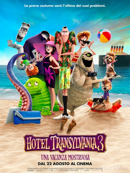 Khách Sạn Huyền Bí 3: Kỳ Nghỉ Ma Cà Rồng Hotel Transylvania 3: Summer Vacation.Diễn Viên: Akara Amarttayakul,Danny Arroyo,Sonthaya Chitmanee