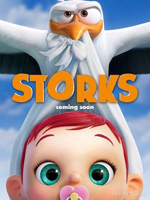 Những Chú Cò Vận Chuyển Trẻ Em Storks.Diễn Viên: Kiyokazu Kanze,Kenichi Matsuyama,Nana Mizuki