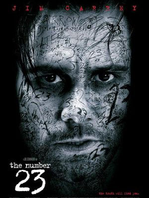 Con Số 23 The Number 23.Diễn Viên: Jim Carrey,Virginia Madsen,Logan Lerman