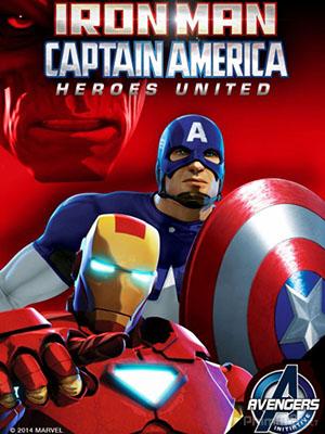 Người Sắt Và Đội Trưởng Mỹ: Liên Minh Anh Hùng Iron Man And Captain America: Heroes United.Diễn Viên: Huỳnh Hiểu Minh,Đặng Siêu,Đồng Đại Vĩ
