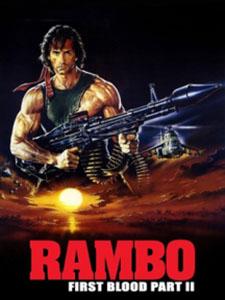 Người Hùng Rambo 2 Sát Nhân Trở Lại: Rambo First Blood Part 2.Diễn Viên: Sylvester Stallone,Richard Crenna,Charles Napier