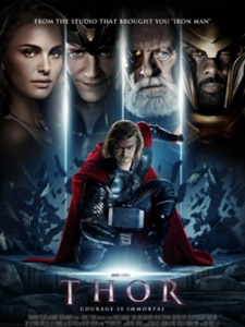 Thần Sấm Thor.Diễn Viên: Anthony Hopkins,Natalie Portman,Chris Hemsworth,Tom Hiddleston