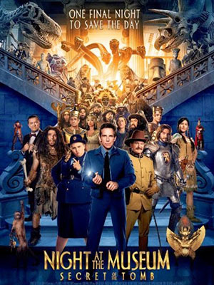 Đêm Ở Viện Bảo Tàng 3 Night At The Museum: Secret Of The Tomb.Diễn Viên: Ben Stiller,Robin Williams,Owen Wilson