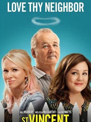 Người Bạn Bất Đắc Dĩ Trai Bao Bá Đạo: St Vincent.Diễn Viên: Bill Murray,Melissa Mccarthy,Naomi Watts
