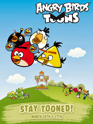 Angry Birds Toons - Bầy Chim Nổi Giận