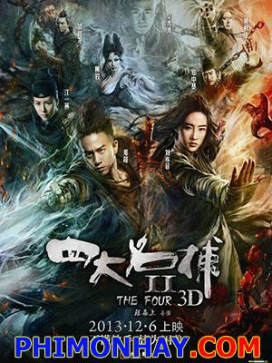 Tứ Đại Danh Bổ 2 The Four 2.Diễn Viên: Lưu Diệc Phi,Đặng Siêu,Giang Nhất Yến,Huỳnh Thu Sinh,