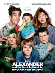 Ngày Tồi Tệ, Thậm Tệ, Kinh Khủng Của Alexander Alexander And The Terrible, Horrible, No Good, Very Bad Day.Diễn Viên: Bella Thorne,Burn Gorman,Jennifer Garner