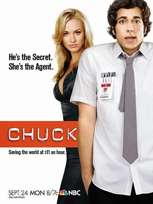 Chàng Điệp Viên Tay Mơ Phần 1 Chuck Season 1.Diễn Viên: Zachary Levi,Yvonne Strahovski,Joshua Gomez,Vik Sahay,Scott Krinsky