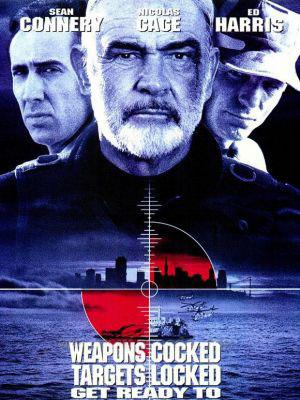 Nhà Tù Đá The Rock.Diễn Viên: Sean Connery,Nicolas Cage,Ed Harris,John Spencer,David Morse