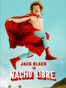 Thầy Tu Đô Vật Nacho Libre.Diễn Viên: Jack Black,Ana De La Reguera,Héctor Jiménez