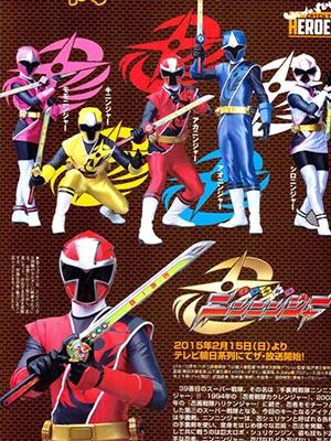 Shuriken Sentai Ninninger Siêu Nhân Nhẫn Giả.Diễn Viên: Cuồng Nộ,Mùa Hè Đóng Băng