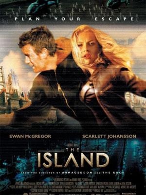 Đảo Vô Hình The Island.Diễn Viên: Ewan Mcgregor,Scarlett Johansson,Djimon Hounsou