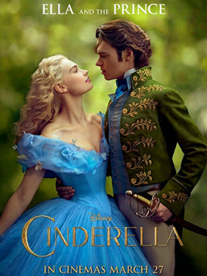 Nàng Lọ Lem Bản Mới Cinderella.Diễn Viên: Lily James,Helena Bonham Carter,Cate Blanchett