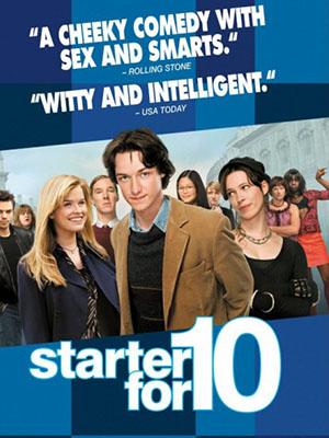 Bắt Đầu Từ Điểm 10 Starter For 10.Diễn Viên: Wendi Mclendon,Covey,Tammin Sursok,Jesse Bradford