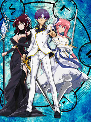 Aria Of Curse For A Holy Swordsman Gái Tiền Kiếp: Seiken Tsukai No World Break.Diễn Viên: Kinshuu Eishou,Warubure