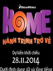 Hành Trình Trở Về Home.Diễn Viên: Jennifer Lopez,Jim Parsons,Rihanna,Steve Martin,Matt Jones