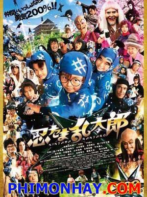Ninja Loạn Thị Ninja Kids.Diễn Viên: Nakamura,Naoto Takenaka,Susumu Terajima