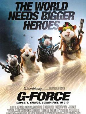 Biệt Đội Chuột Lang G-Force.Diễn Viên: Will Arnett,Penélope Cruz,Zach Galifianakis