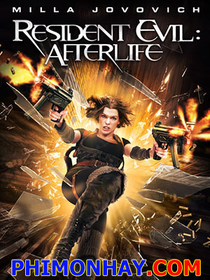 Vùng Đất Quỷ Dữ 4: Kiếp Sau Resident Evil 4: Afterlife.Diễn Viên: Milla Jovovich,Ali Larter,Wentworth Miller