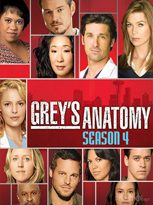 Ca Phẫu Thuật Của Grey Phần 4 Greys Anatomy Season 4.Diễn Viên: Ellen Pompeo,Sandra Oh,Justin Chambers,Chandra Wilson,Patrick Dempsey