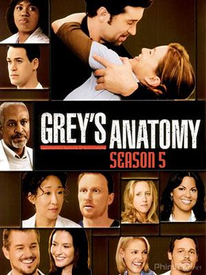 Ca Phẫu Thuật Của Grey Phần 5 Greys Anatomy Season 5.Diễn Viên: Ellen Pompeo,Sandra Oh,Justin Chambers,Chandra Wilson,Patrick Dempsey