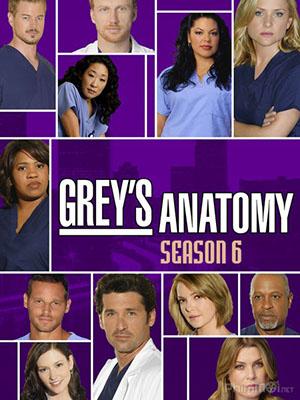 Ca Phẫu Thuật Của Grey Phần 6 Greys Anatomy Season 6.Diễn Viên: Ellen Pompeo,Sandra Oh,Justin Chambers,Chandra Wilson,Patrick Dempsey
