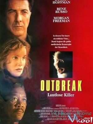 Bùng Nổ Outbreak.Diễn Viên: Dustin Hoffman,Rene Russo,Morgan Freeman