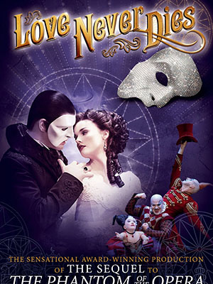Tình Yêu Bất Diệt Love Never Dies.Diễn Viên: Ben Lewis,Anna Obyrne,María Mercedes
