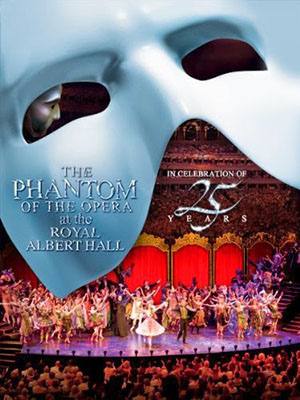 Bóng Ma Trong Nhà Hát The Phantom Of The Opera At The Royal Albert Hall.Diễn Viên: Ramin Karimloo,Sierra Boggess,Hadley Fraser