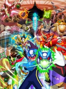 Mega Man Star Force Tribe Ryuusei No Rockman Tribe