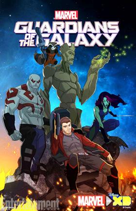 Vệ Binh Dải Ngân Hà Phần 1 Guardians Of The Galaxy Season 1.Diễn Viên: Will Friedle,Trevor Devall,Kevin Michael Richardson