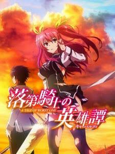 Sử Thi Về Một Hiệp Sĩ Lưu Ban Rakudai Kishi No Cavalry: Chivalry Of A Failed Knight.Diễn Viên: Mai Nakahara,Kishou Taniyama,Reiko Takagi,Sayaka Oohara