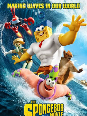 Người Hùng Lên Cạn The Spongebob Movie: Sponge Out Of Water.Diễn Viên: Tom Kenny,Antonio Banderas,Bill Fagerbakke