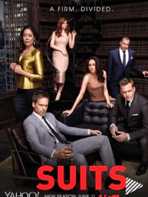 Luật Sư Tay Chơi 4 Suits Season 4.Diễn Viên: Gabriel Macht,Patrick J Adams,Michelle Fairley,Max Beesley,Gina Torres,Meghan Markle
