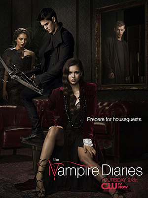 Nhật Ký Ma Cà Rồng Phần 4 The Vampire Diaries Season 4.Diễn Viên: Nina Dobrev,Ian Somerhalder,Paul Wesley