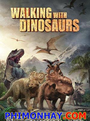 Dạo Bước Với Khủng Long Walking With Dinosaurs.Diễn Viên: Charlie Rowe,Karl Urban,Angourie Rice