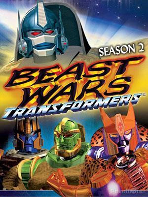 Mãnh Thú Đại Chiến Phần 2 Beast Wars: Transformers Season 2.Diễn Viên: Transformers Prime,Robot Biến Hình