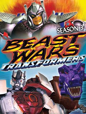 Mãnh Thú Đại Chiến Phần 3 Beast Wars: Transformers Season 3.Diễn Viên: Transformers Prime,Robot Biến Hình
