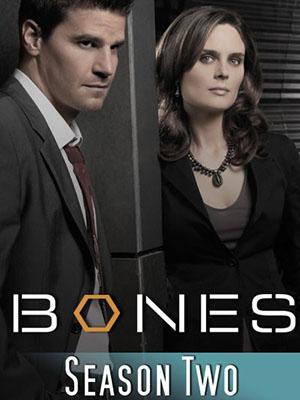 Hài Cốt Phần 2 Bones Season 2.Diễn Viên: Emily Deschanel,David Boreanaz,Michaela Conlin