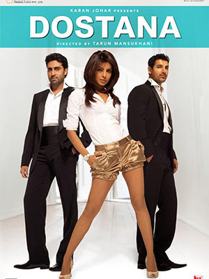 Cạm Bẫy Tình Yêu Dostana.Diễn Viên: Abhishek Bachchan,John Abraham,Priyanka Chopra,Kiron Kher,Bobby Deol,Boman Irani